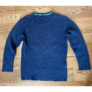 Vintage gap cable knit sweater